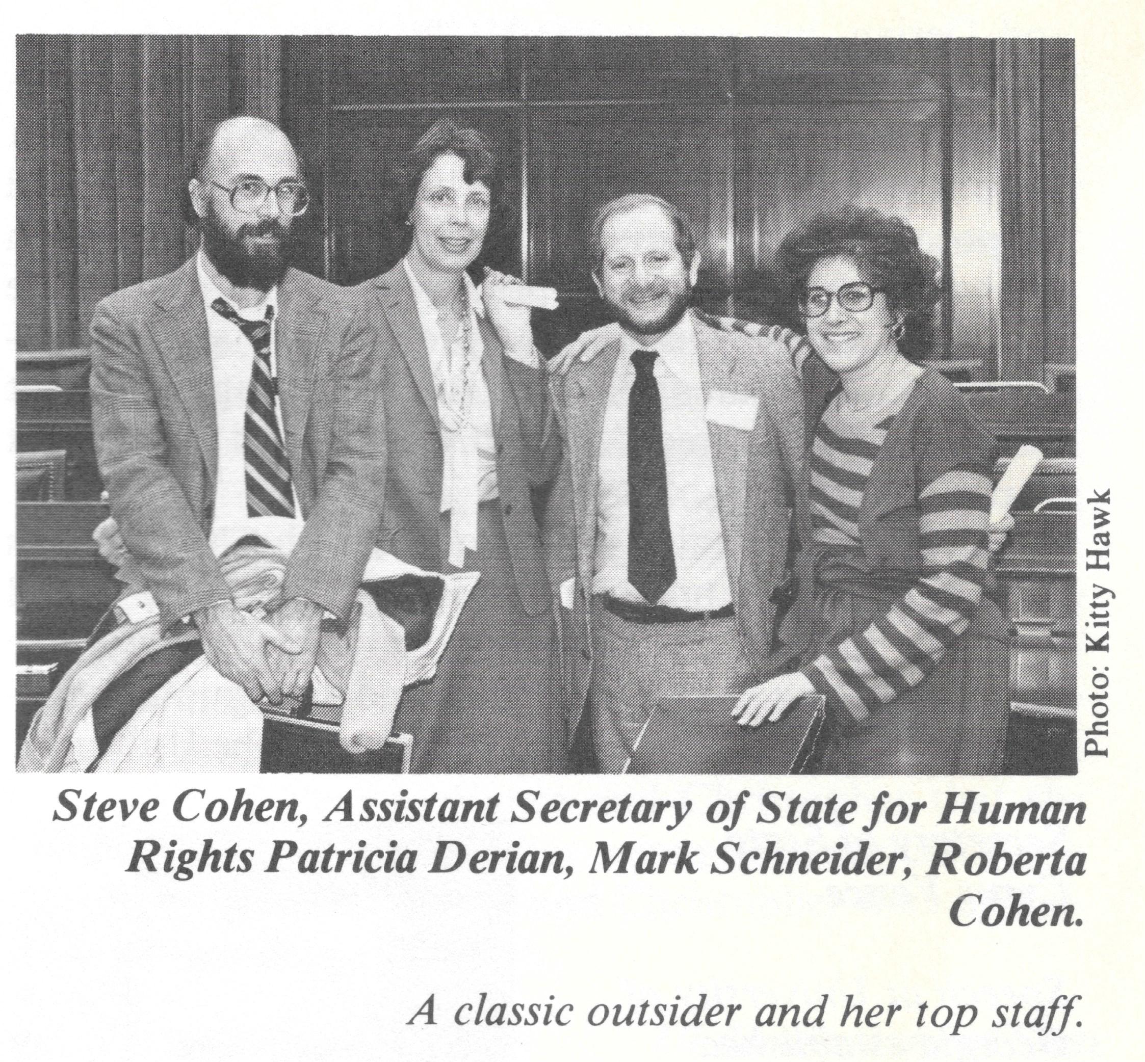 Human Rights Bureau State Dept. 1980