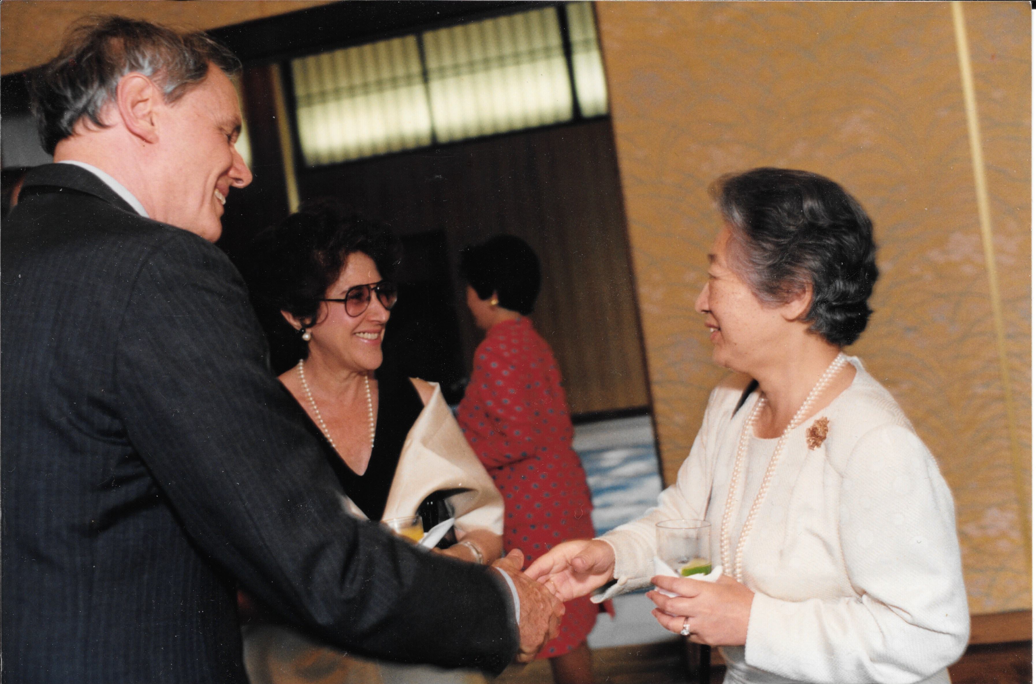 With U.N. High Commissioner for Refugees
