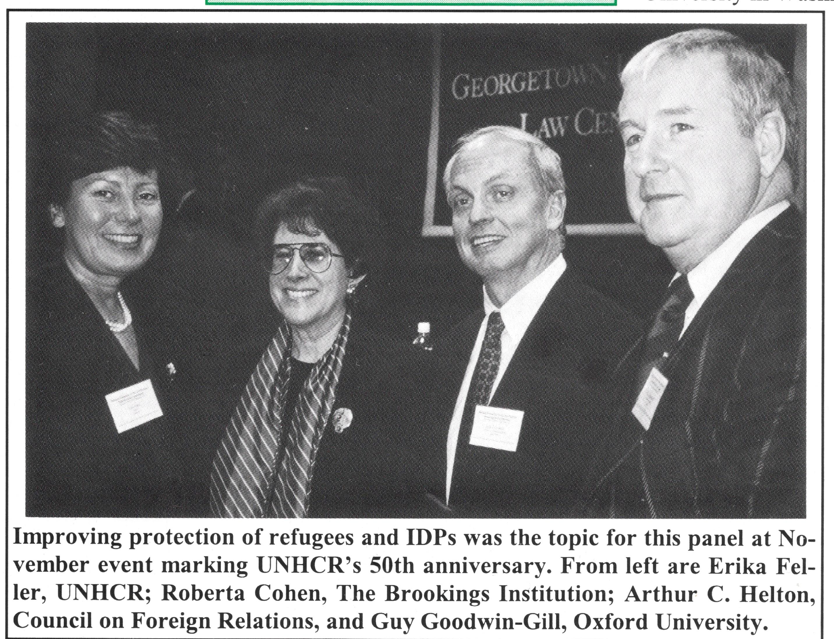 unhcr 50th anniversary